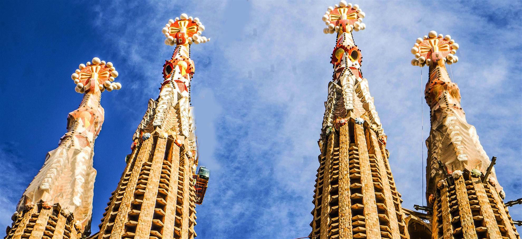 Sagrada Familia + Audioguide + Tornen