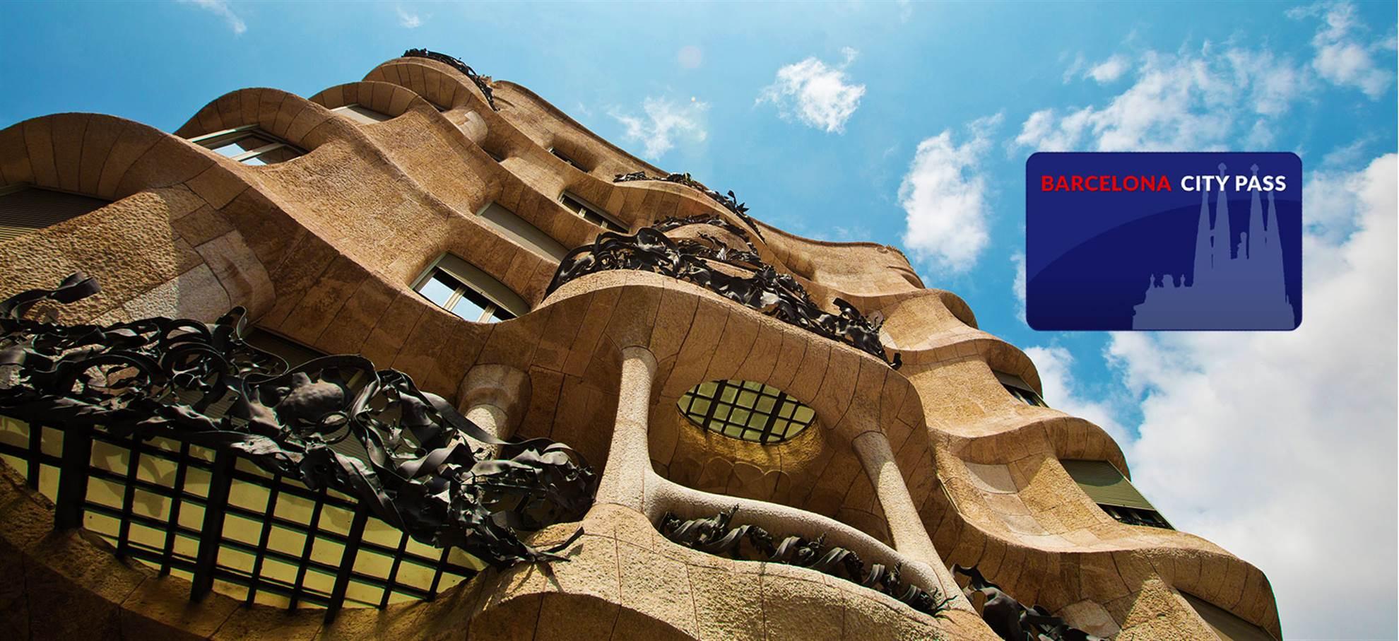Pase de la Ciudad de Barcelona (incl. Sagrada Familia + Torre + Audio-guía castellano)