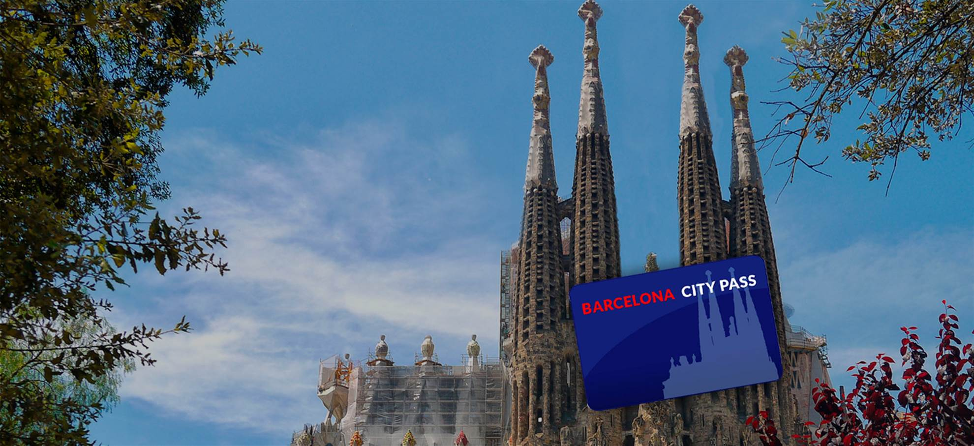 Barcelona City Pass (incl. Sagrada Familia y Parc Güell) + Audioguía