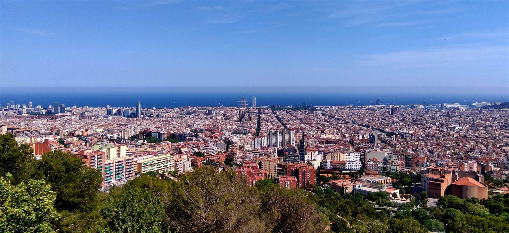 Vol Panoramique au-dessus de Barcelone