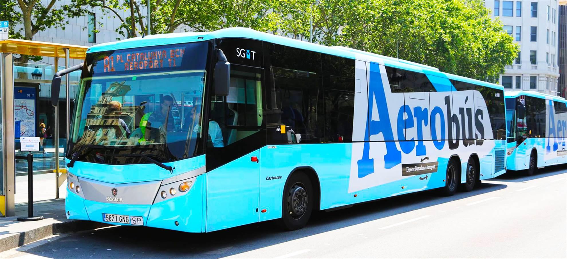 AEROBÚS Barcelona transport z lotniska