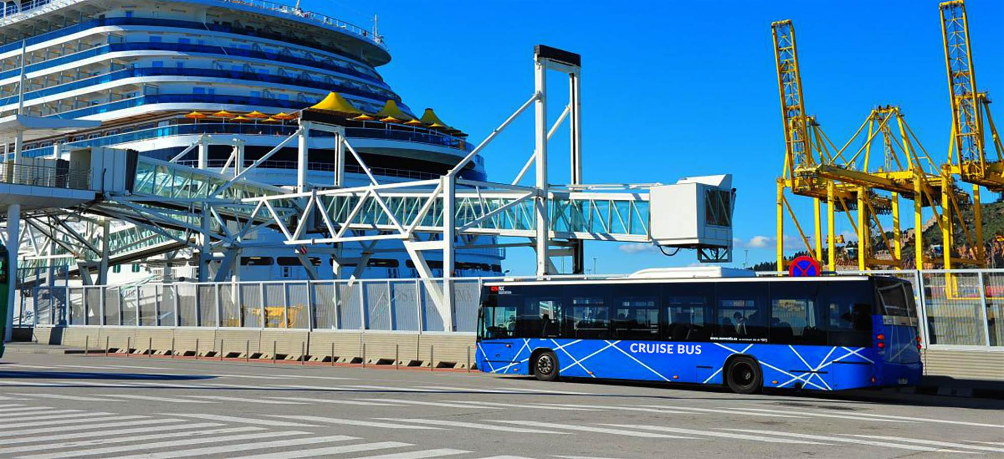 Bus trasferimento dal Porto di Barcellona alla Rambla