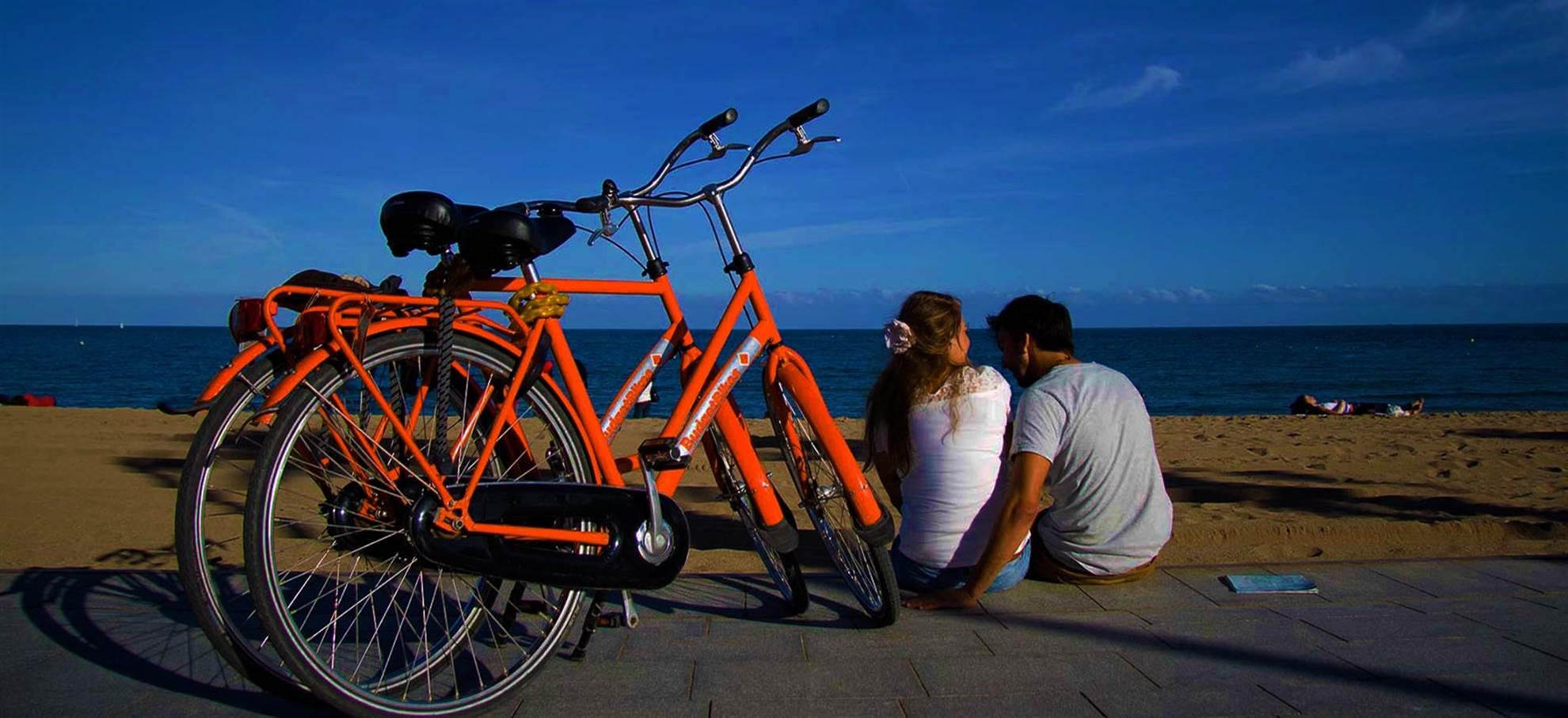 Wypożyczalnia rowerów w Barcelonie