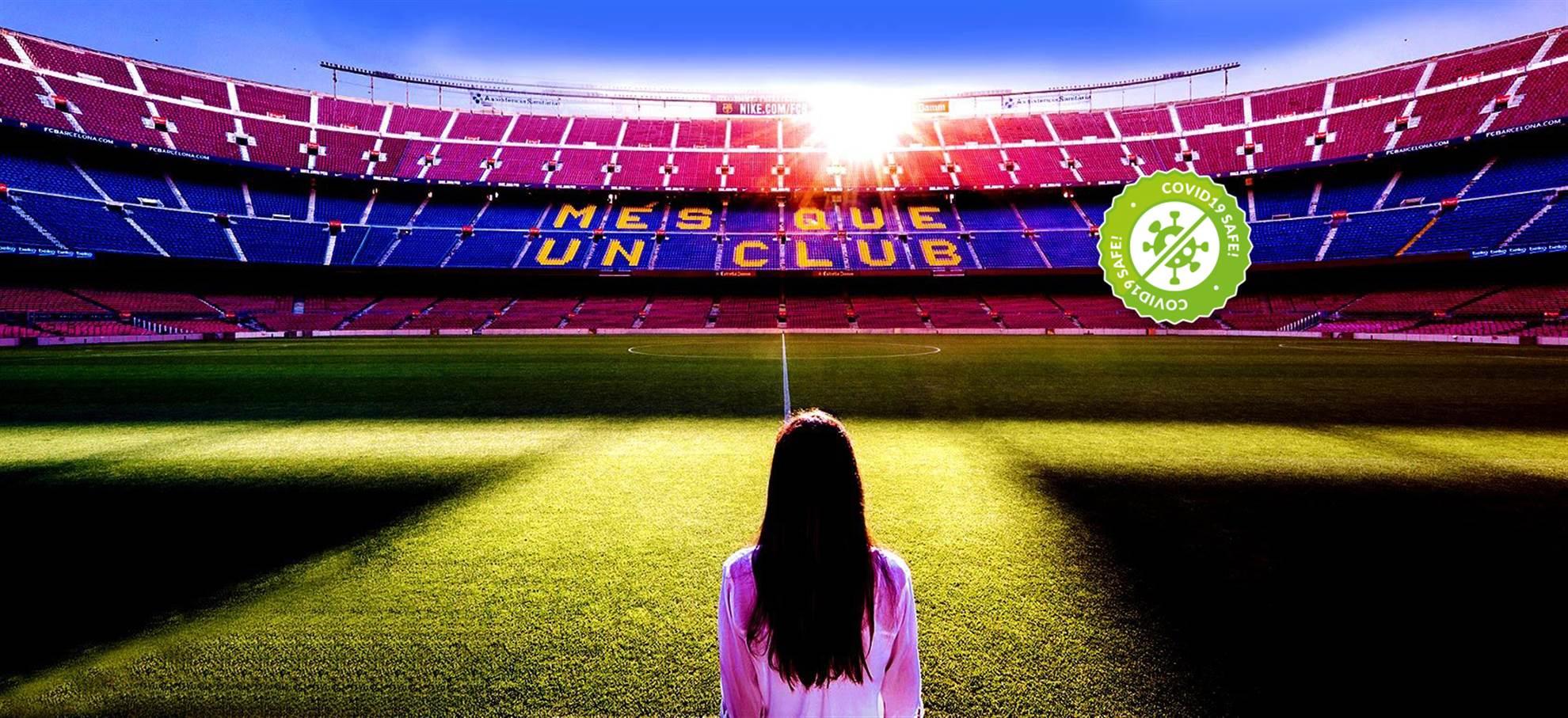 Entradas Tour Estadio Camp Nou y Museo FC Barcelona