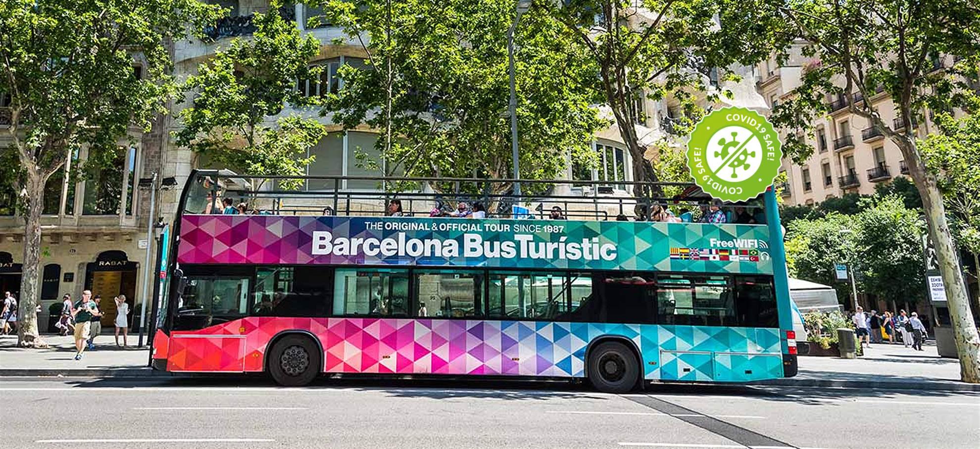 Entradas bus turístico de Barcelona