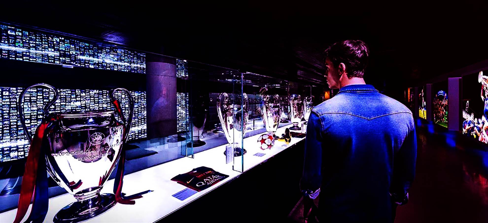 FC Barcelona Stadium Tour Open Visit