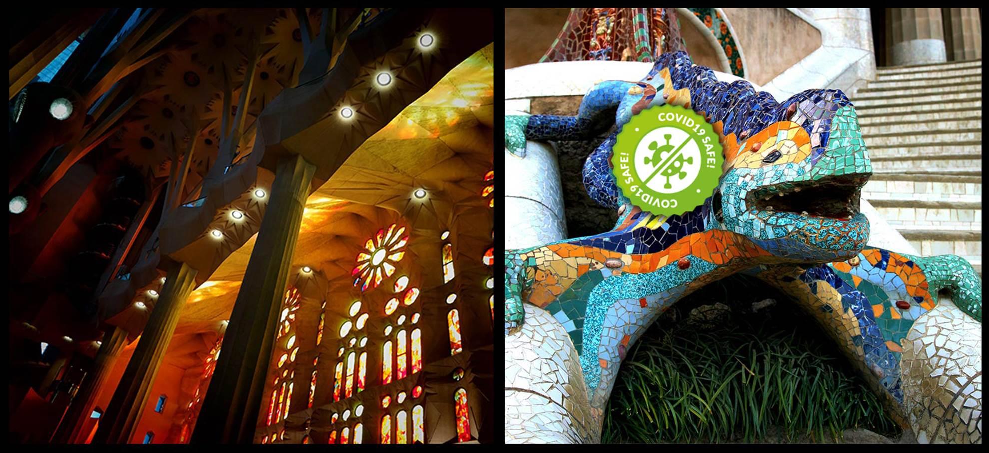 Pacote Gaudi: Sagrada Família e Parque Güell