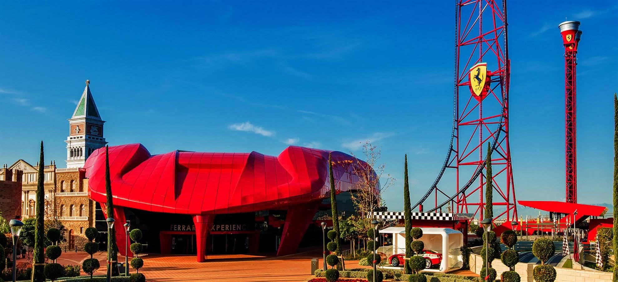 Port Aventura and Ferrari Land Tickets