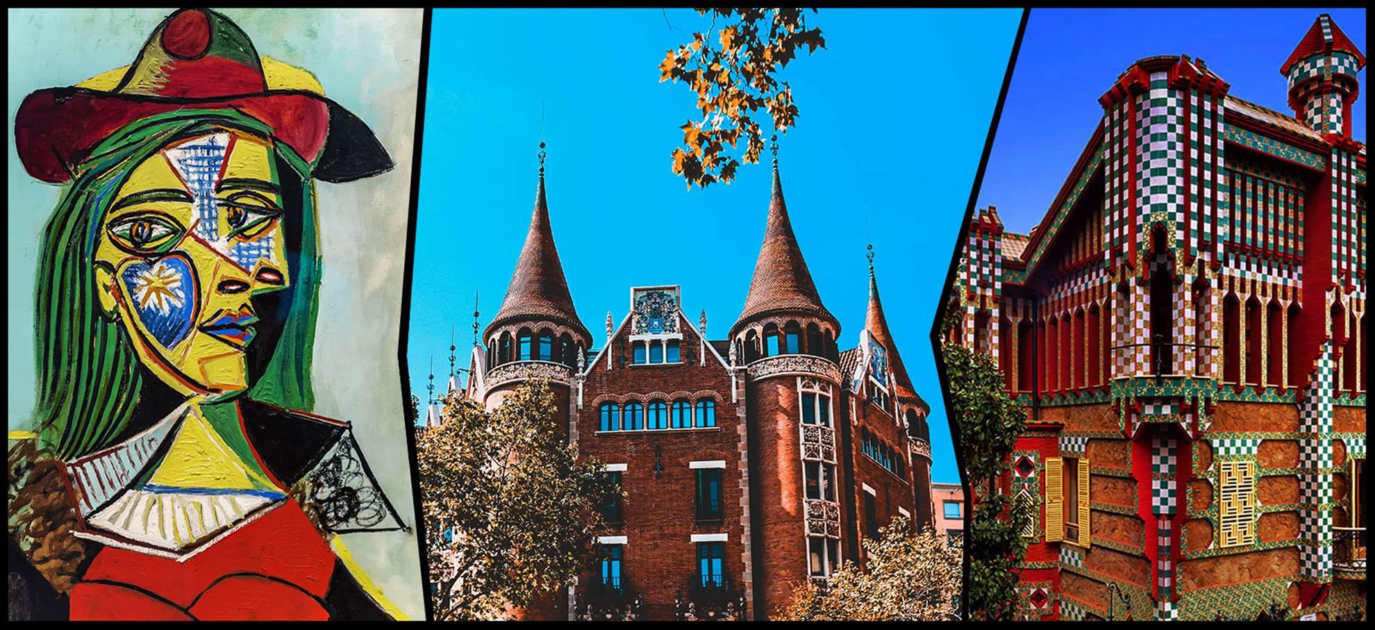 BCN Genius Combi: Gaudi´s Casa Vicens and Picasso Museum