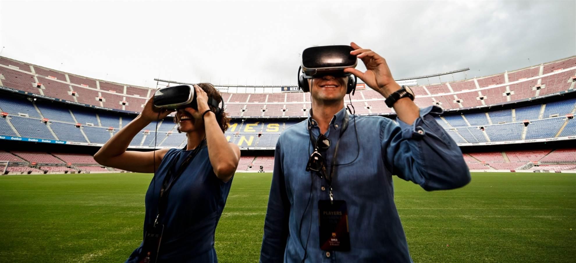 Players Experience Tour (inclusief bezoek kleedkamer Barca)