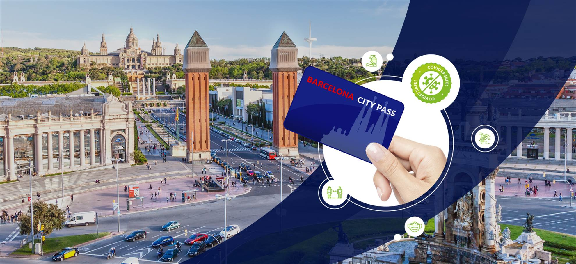 Barcelona City Pass (Corona Safe)