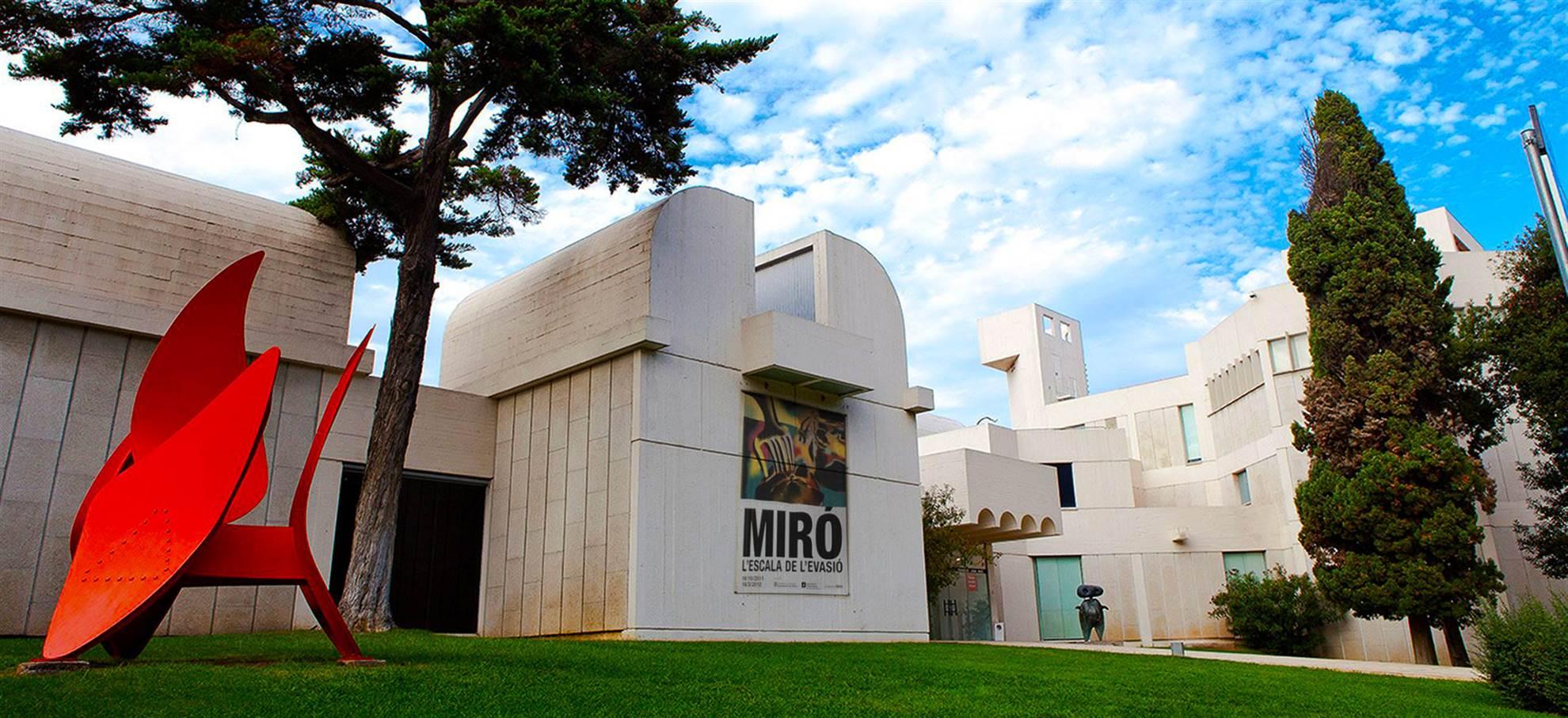 Afbeeldingsresultaat voor barcelona Fundació Joan Miró
