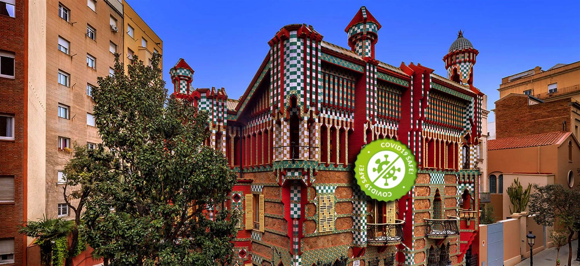 Casa Vicens di Gaudì a Barcellona Biglietti