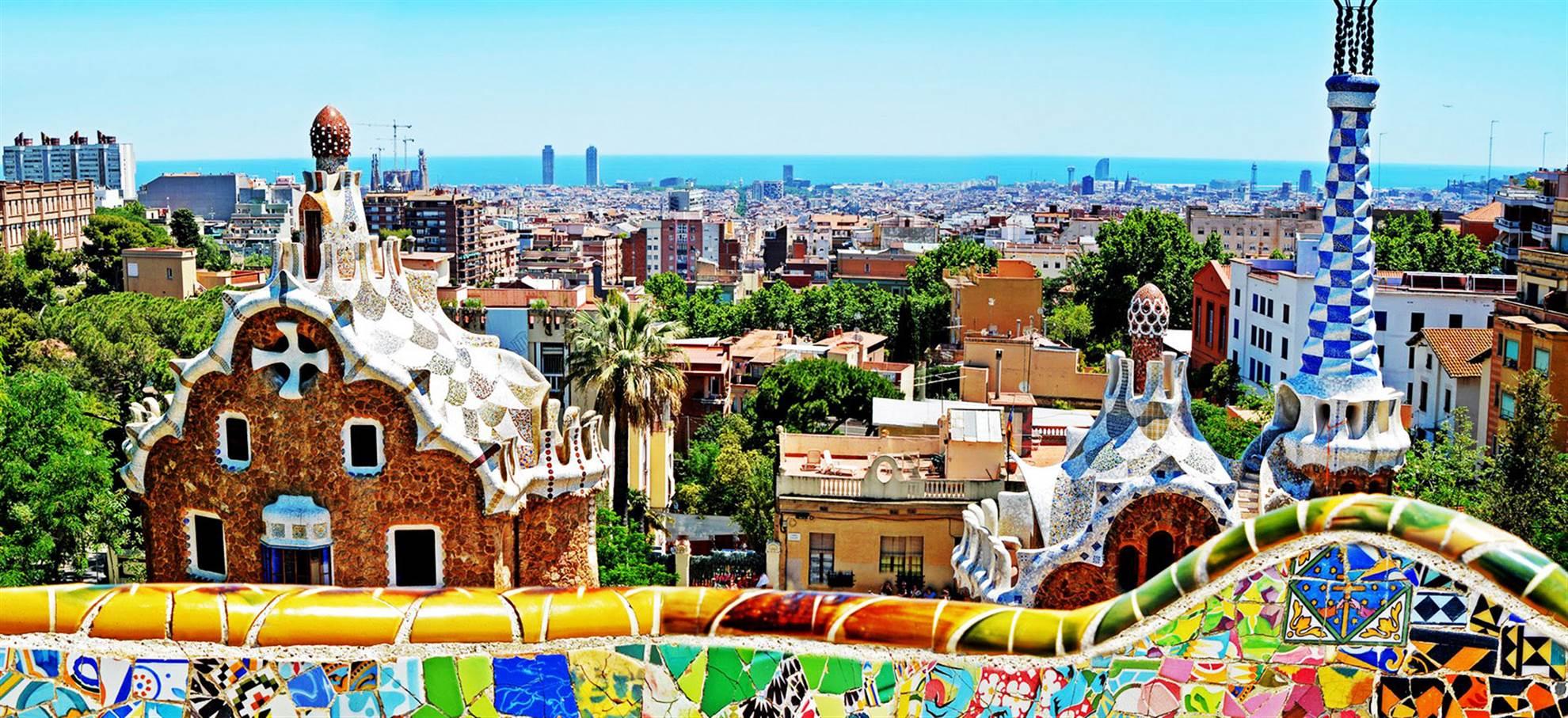 Resultado de imagen para parque güell barcelona