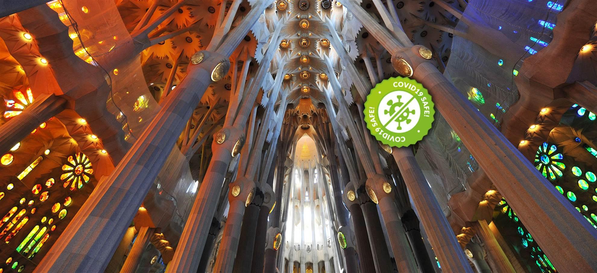 Sagrada Familia + Audioguida APP in Italiano
