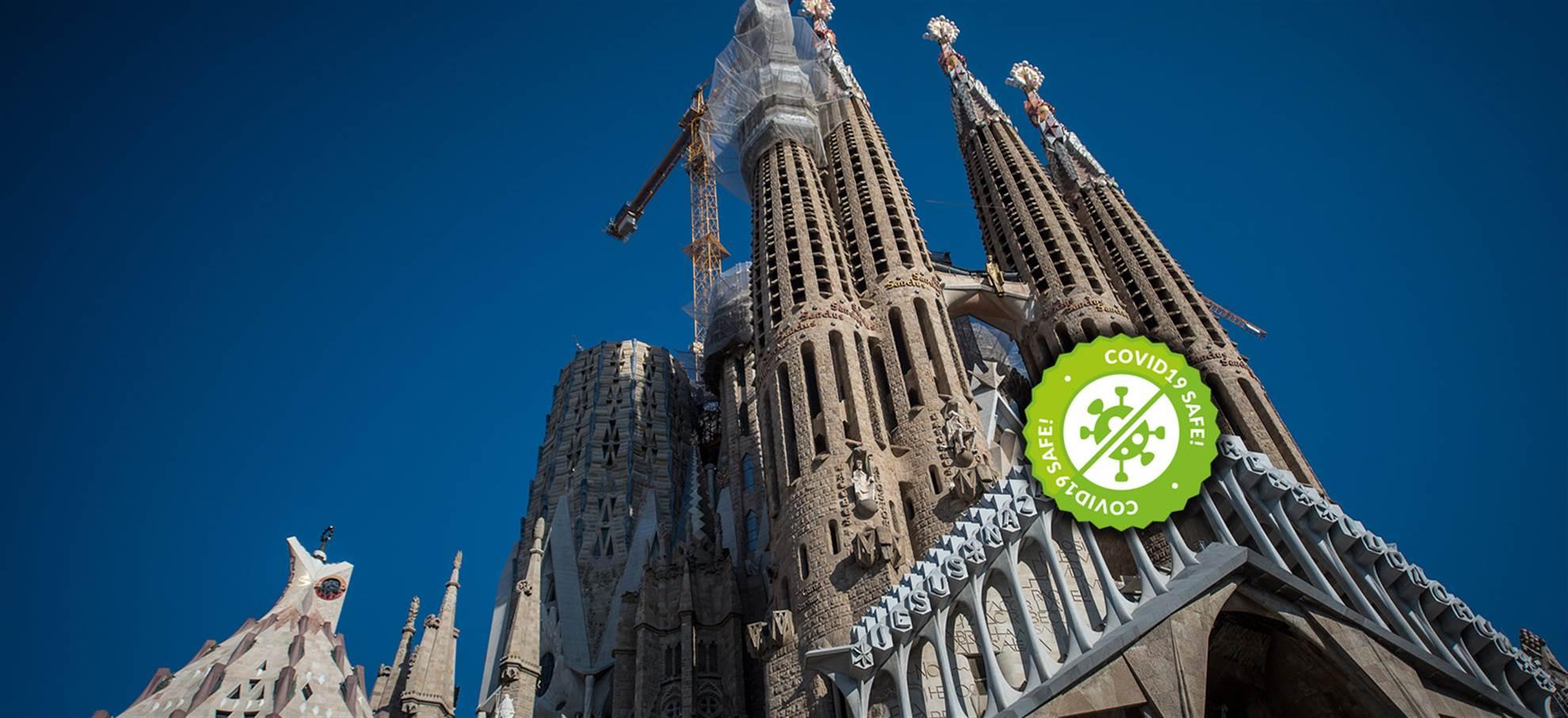 Sagrada Familia Geführte detailbesichtigung von aussen