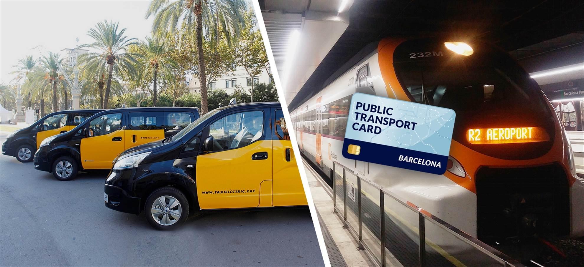 Carta dei Trasporti Pubblici di Barcellona (+ Trasferimento Aeroportuale Privato)