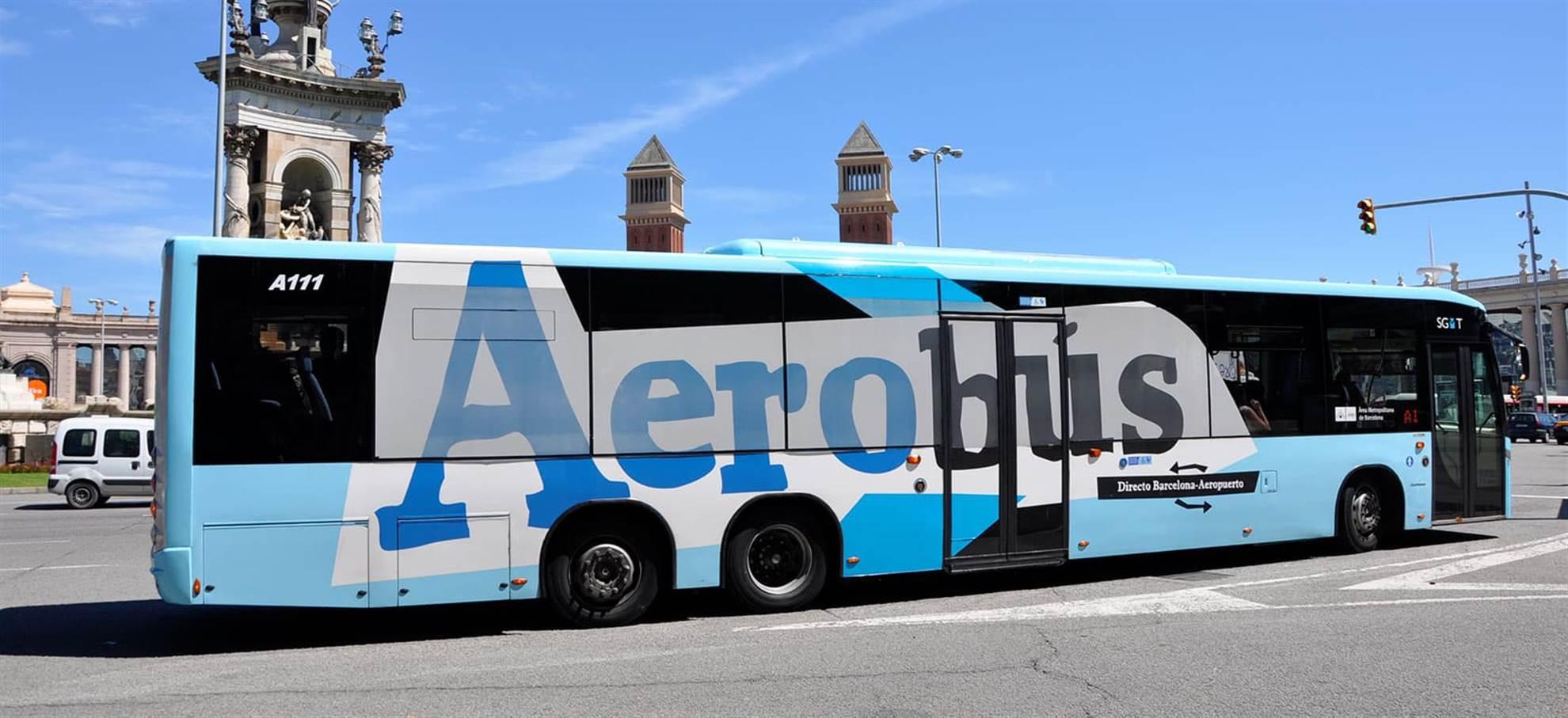 Billet AEROBÚS Barcelone Transfert Aéroport