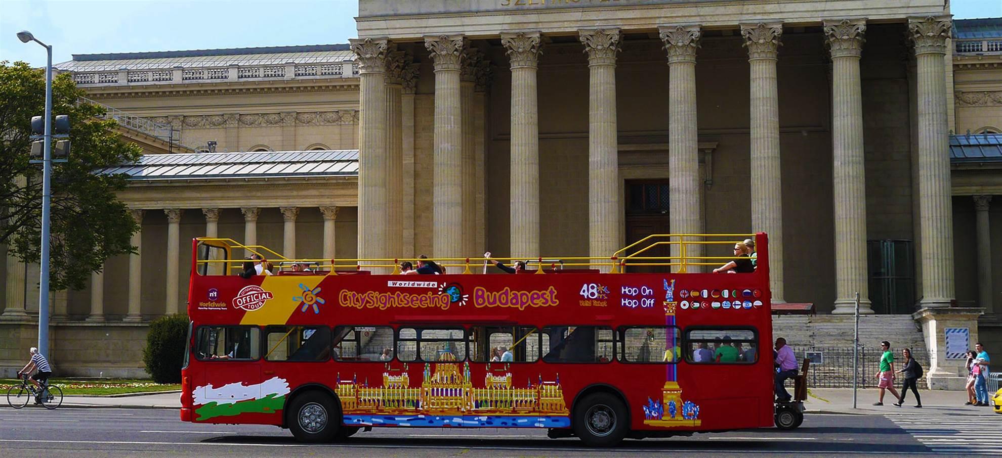 Автобус с остановками в Будапеште