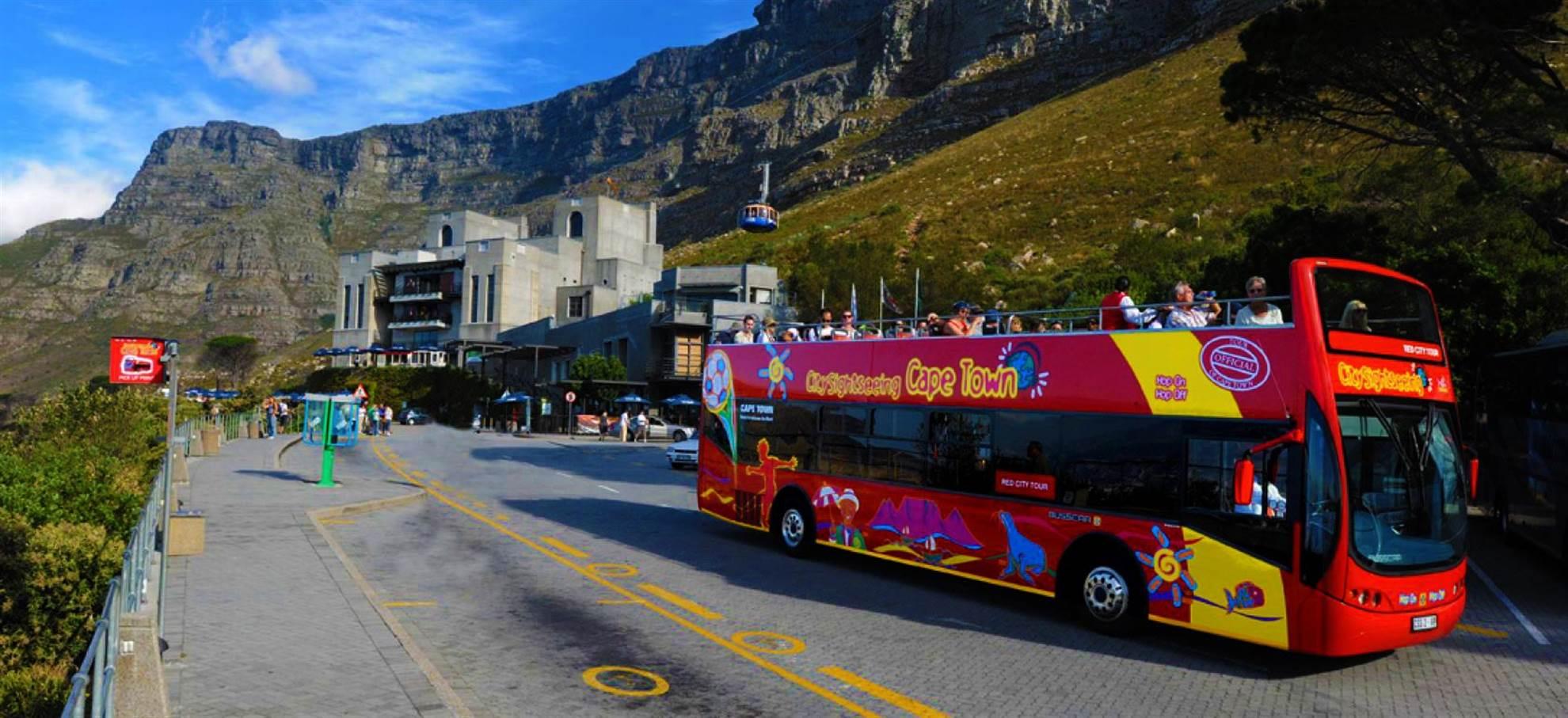 Le Cap - Hop on Hop off bus