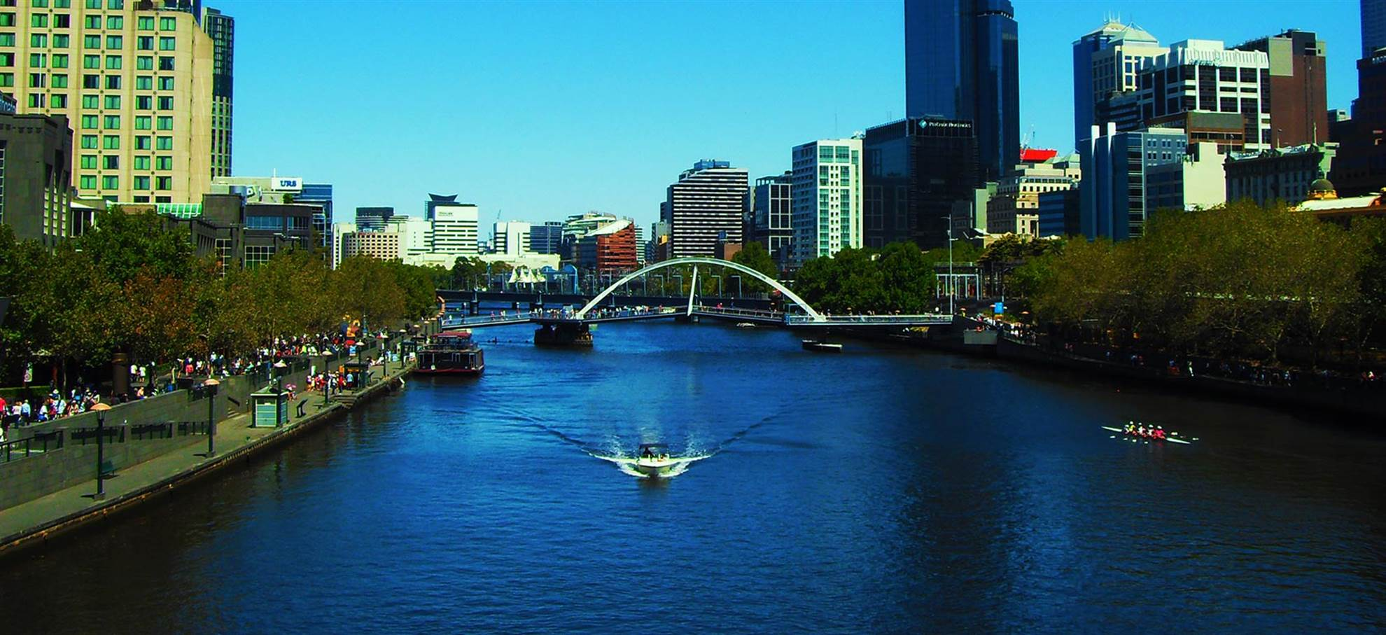 Morning Melbourne City Tour with River Cruise