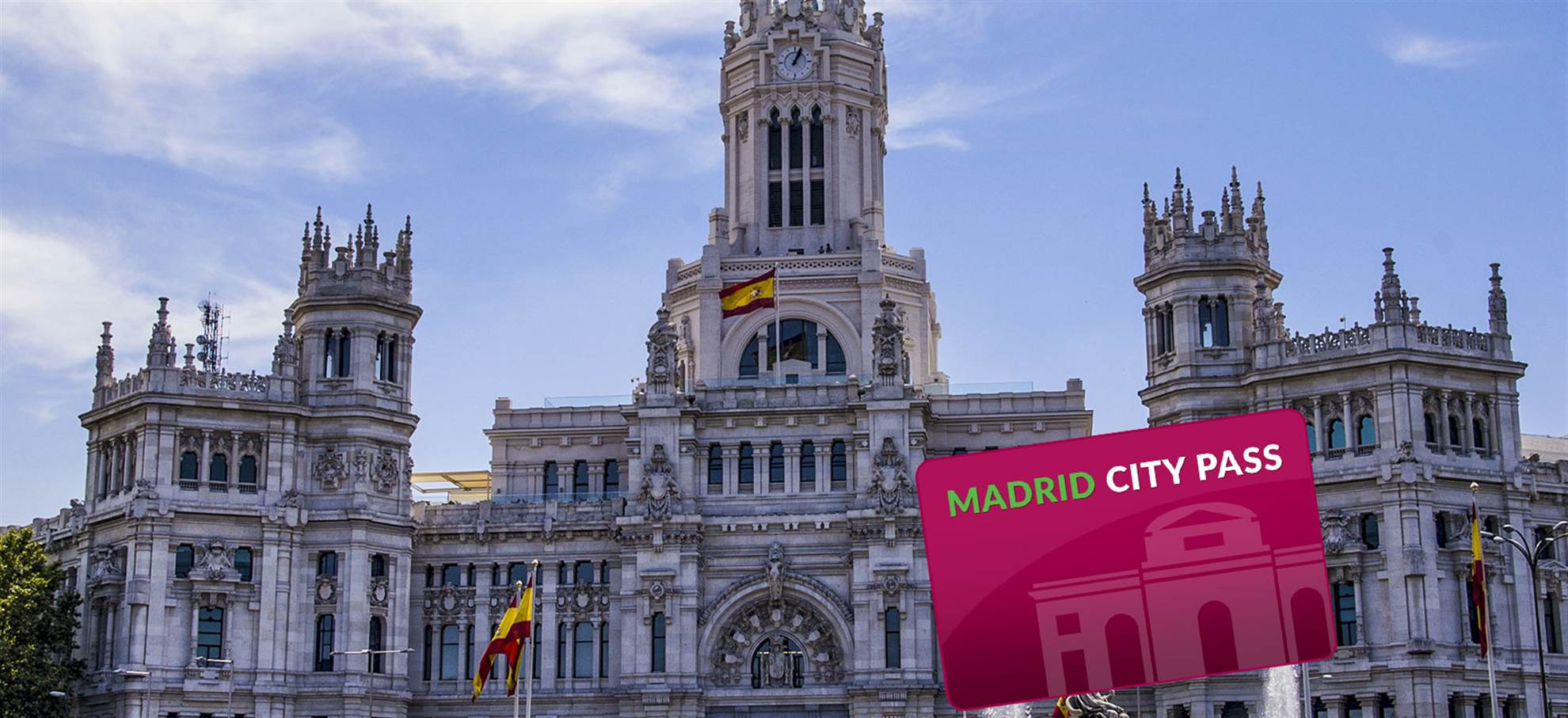 Madrid City Pass: Includes Metro Card, Airport Transfer and Royal Palace or Prado Museum!