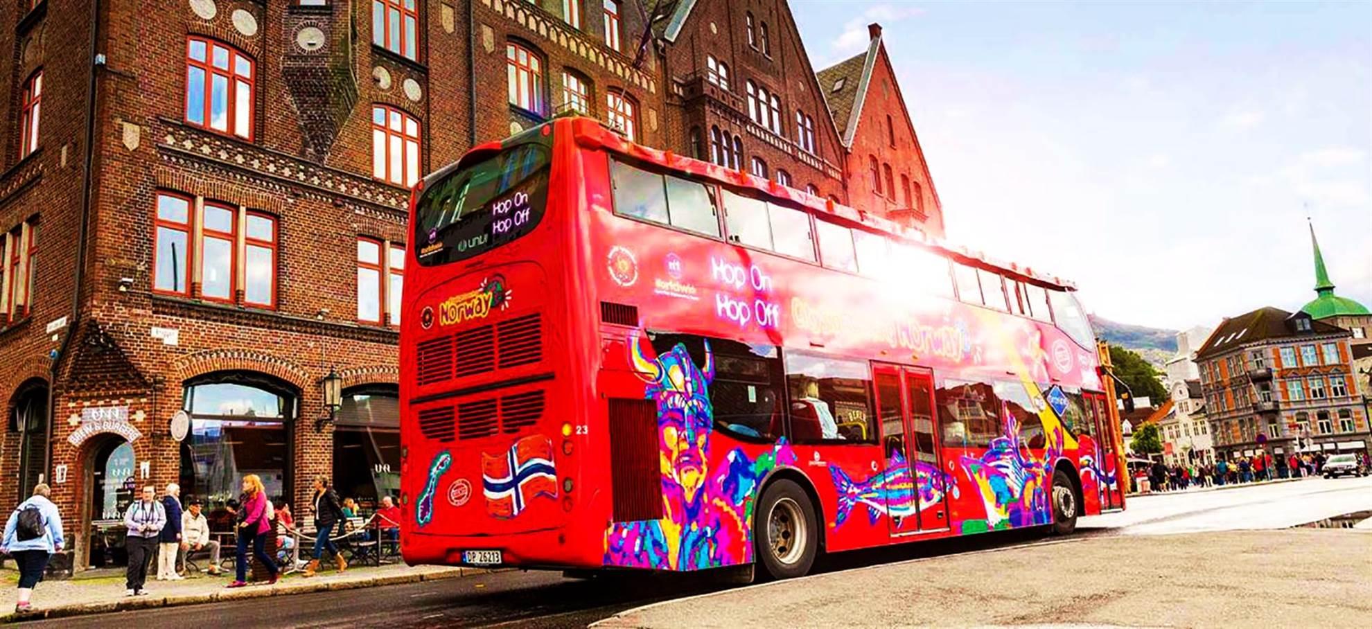 Bergen hop-on-hop-off bus
