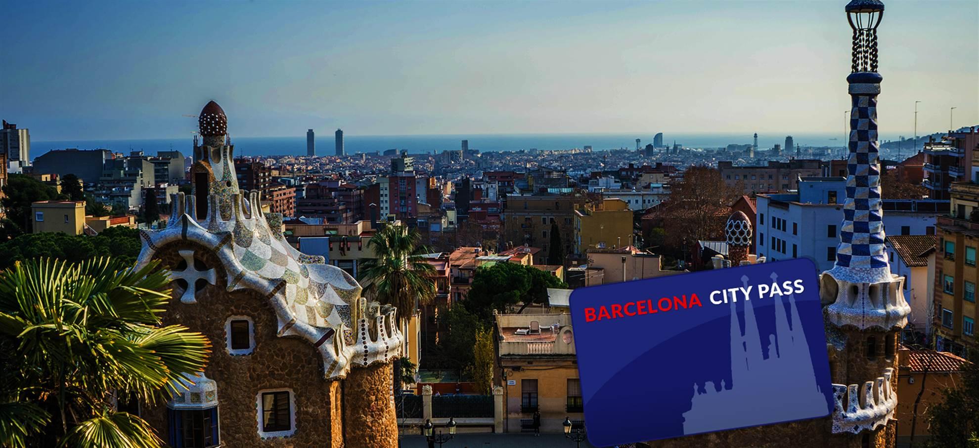 Barcelona City Pass (Incl. visite de la Sagrada Familia en français, accès Park Güell)