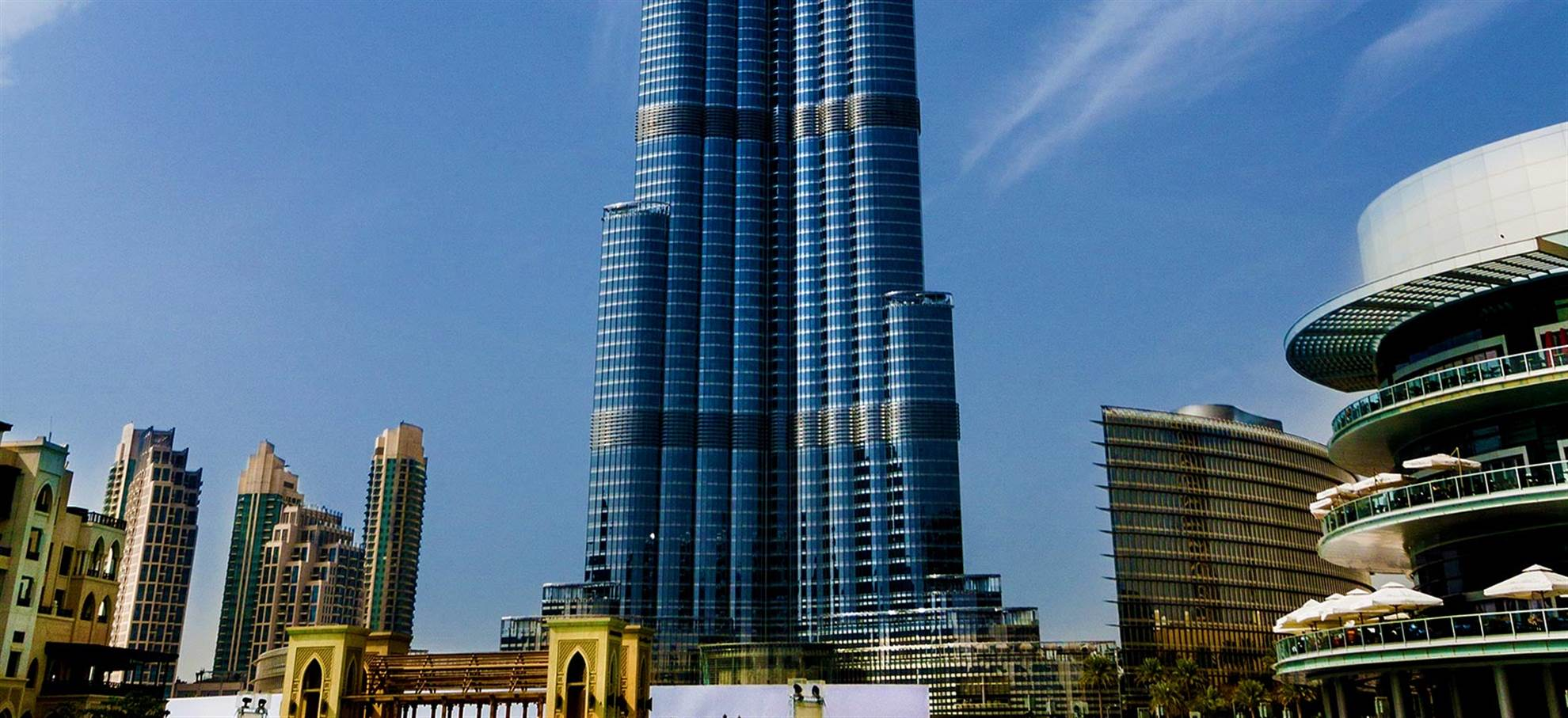 Begin your Dubai sightseeing with Burj