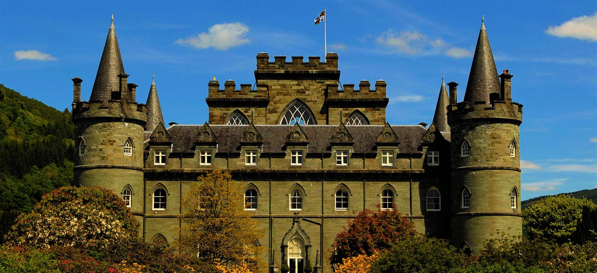 Doune Castle, Loch Lomond & The Western Highlands