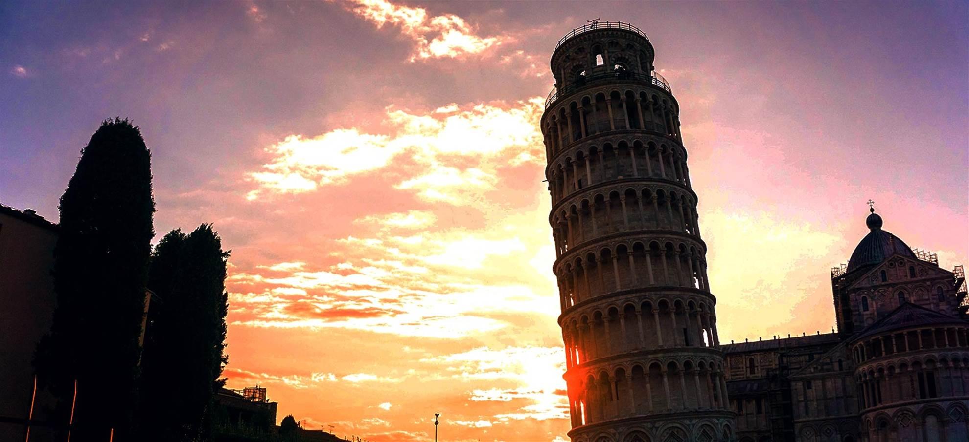 Schiefen Turm von Pisa