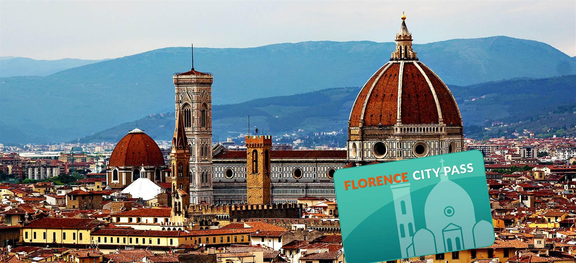Florencia city pass (Incl. Uffizi, traslado al aeropuerto)