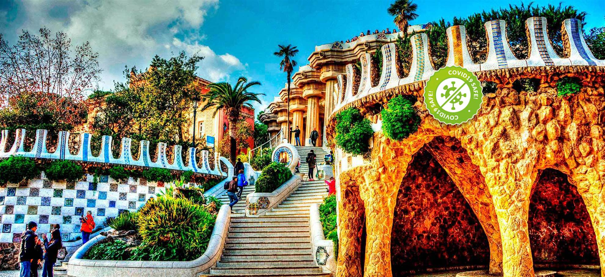 Park Güell Skip the line tickets!