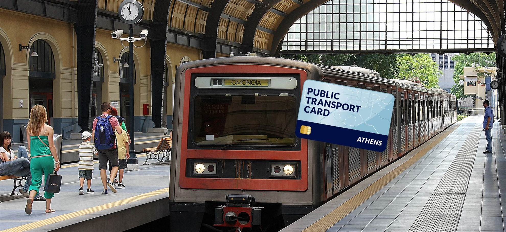 Athènes Travel Card