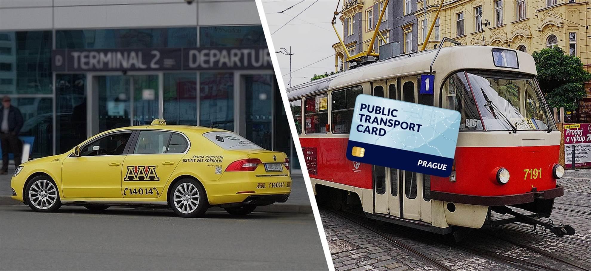 Carte pour les Transports en Commun de Prague (+ transfert  privé de l'aéroport )
