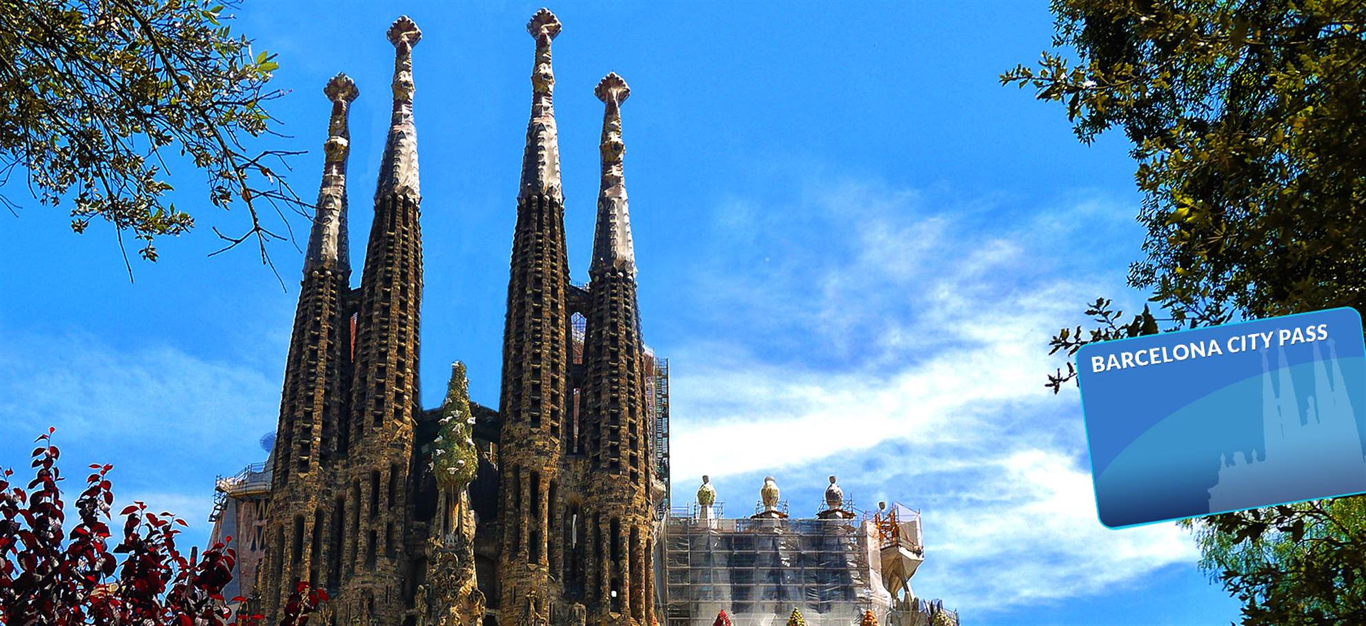 Barcelona City Pass (Incl. Sagrada Familia Tour in English and Park Güell)