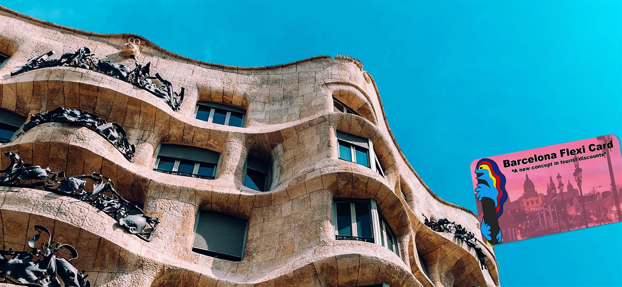 BCN Flexi Card ´Create your own City Card´ (optional Sagrada Familia & Park Güell)