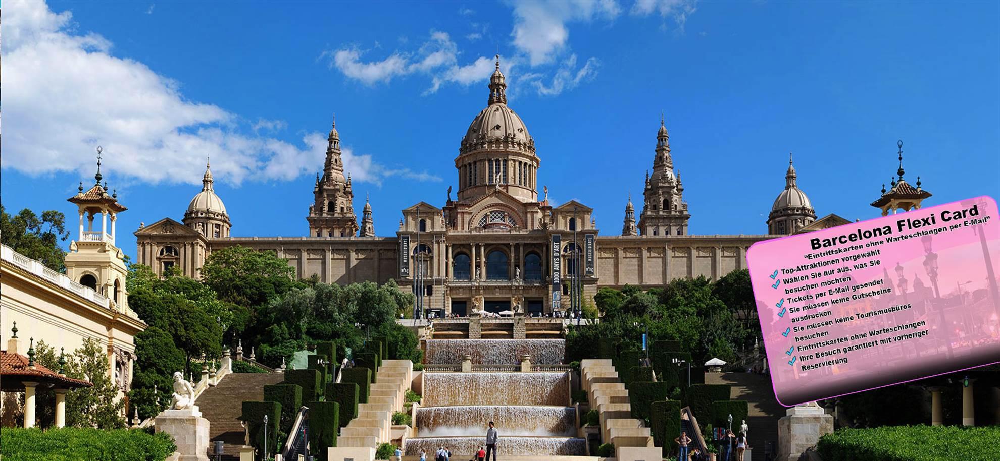 BCN Flexi-Karte: Erstellen Sie Ihre eigene Karte (optional Sagrada Familia & Park Güell)