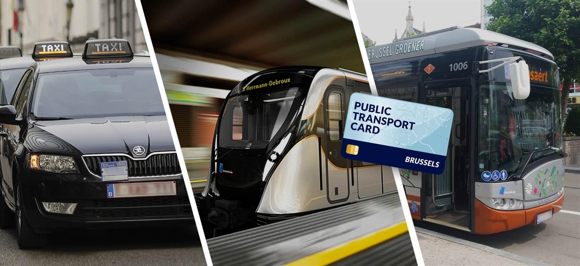 Brussels Public Transportation Card (+Airport Transfer)