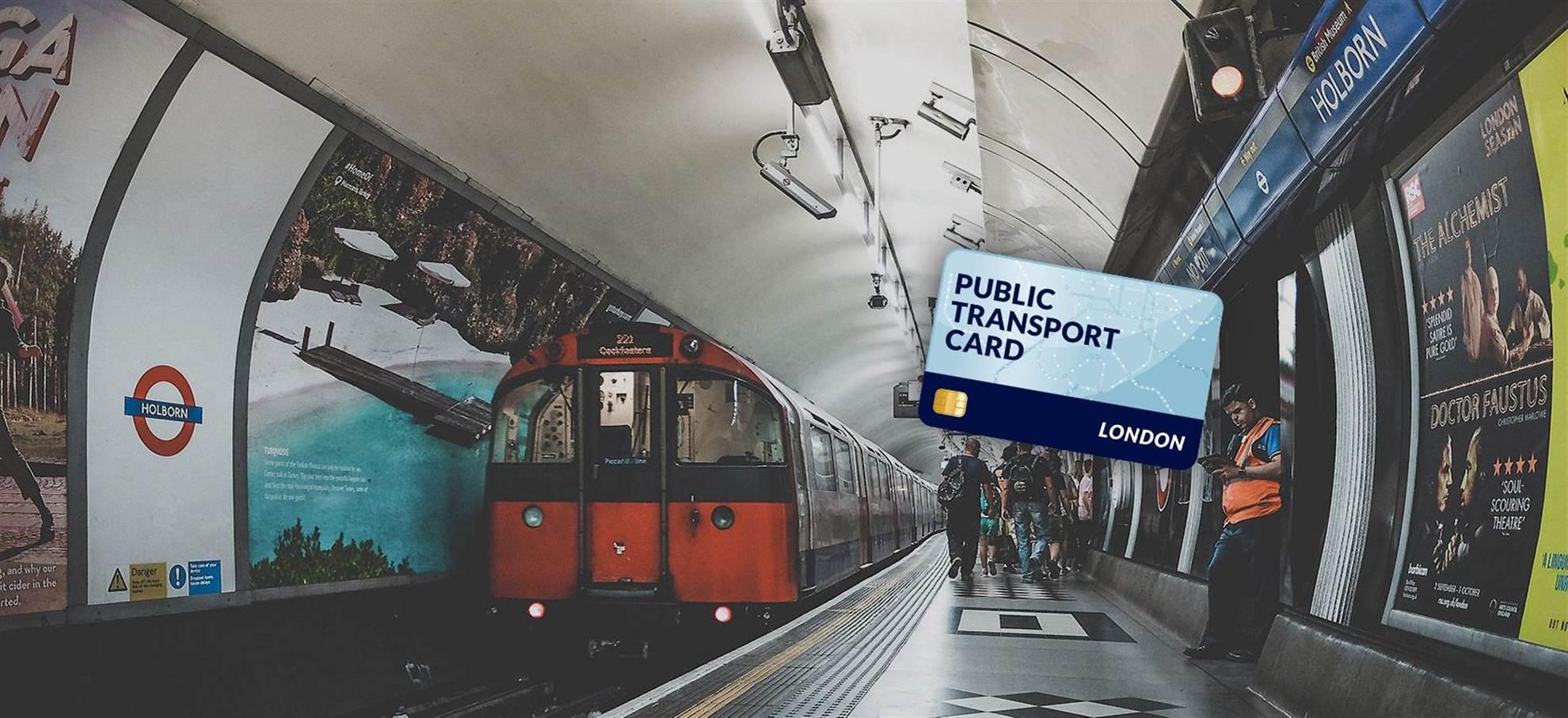 Лондона Travel Card