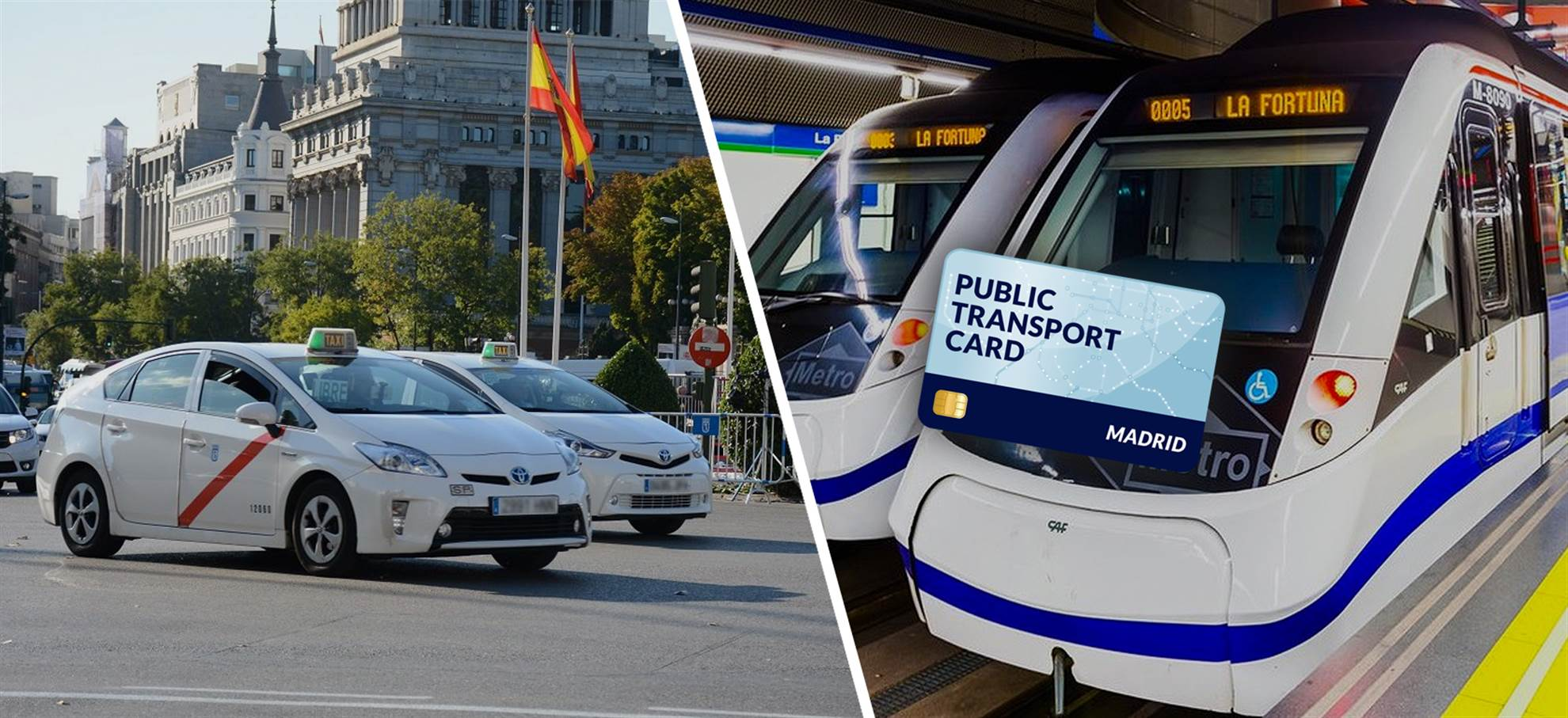 Madrid Public Transportation Card (+Airport Transfer)