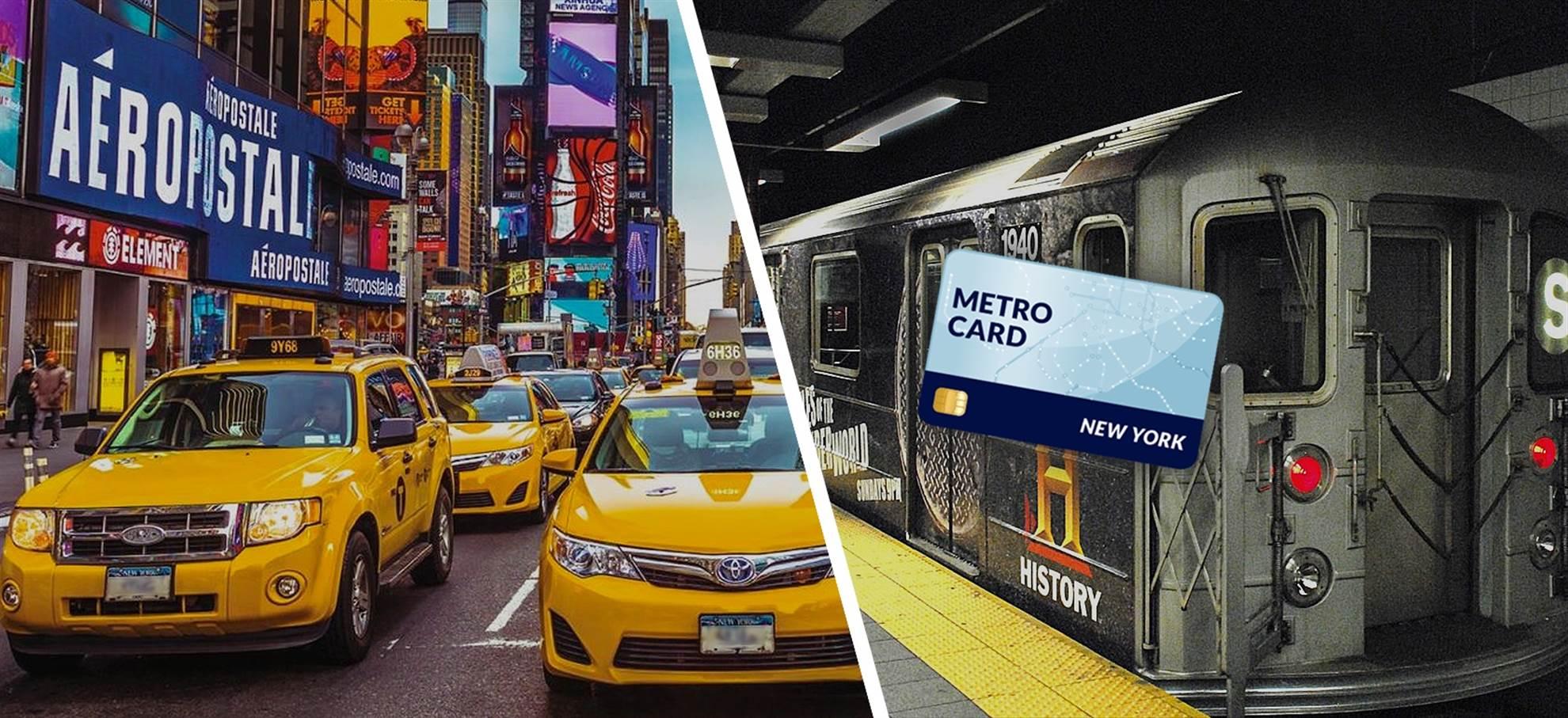 New York Metro Card (+ Private Airport Transfer)