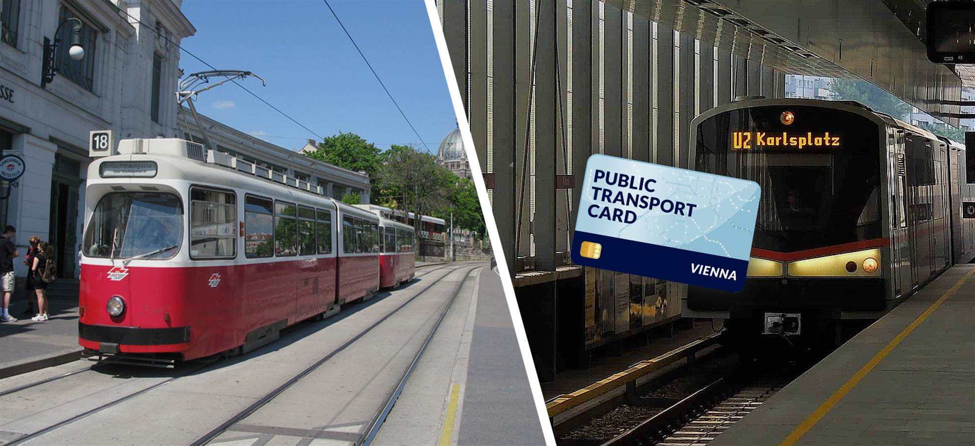 Vienna Public Transportation Card (+Airport Transfer)