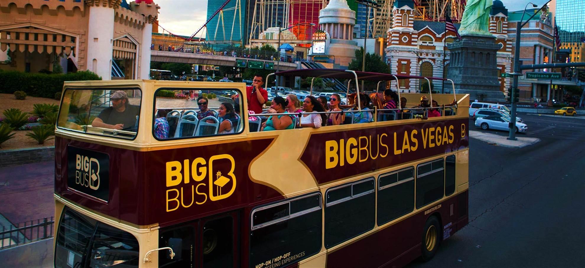 Las Vegas Hop on Hop off Bus