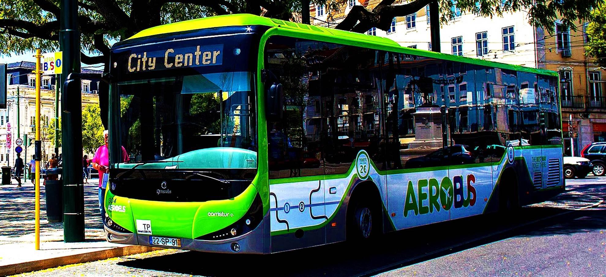 AEROBUS: Lisbon airport shuttle