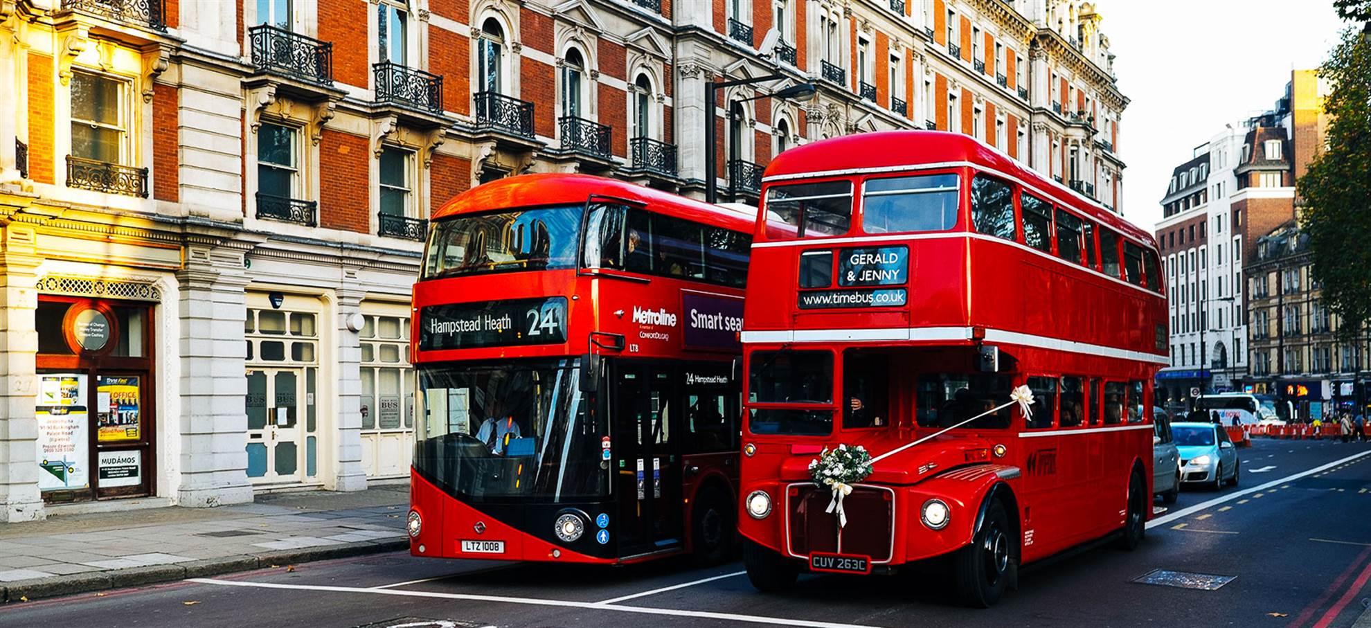 """Bus de Londres """"Hop on Hop off"""""""