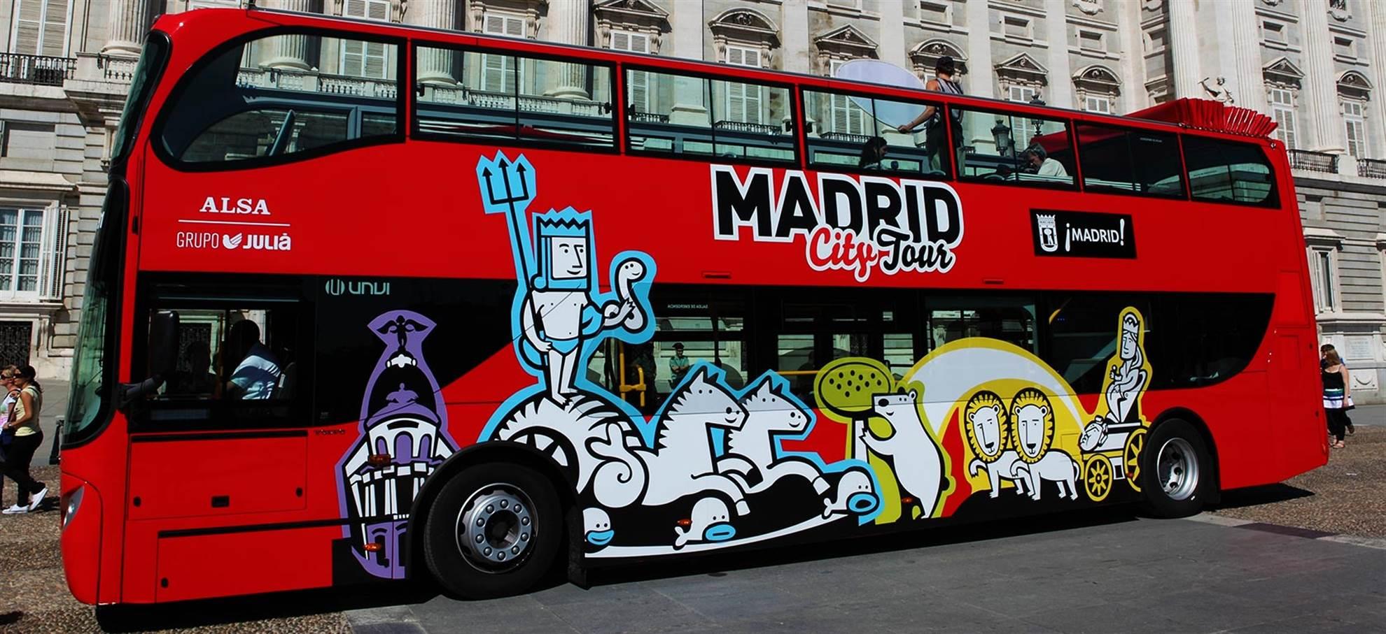 """Wycieczka po Madrycie autobusem """"Hop-on Hop-off"""""""