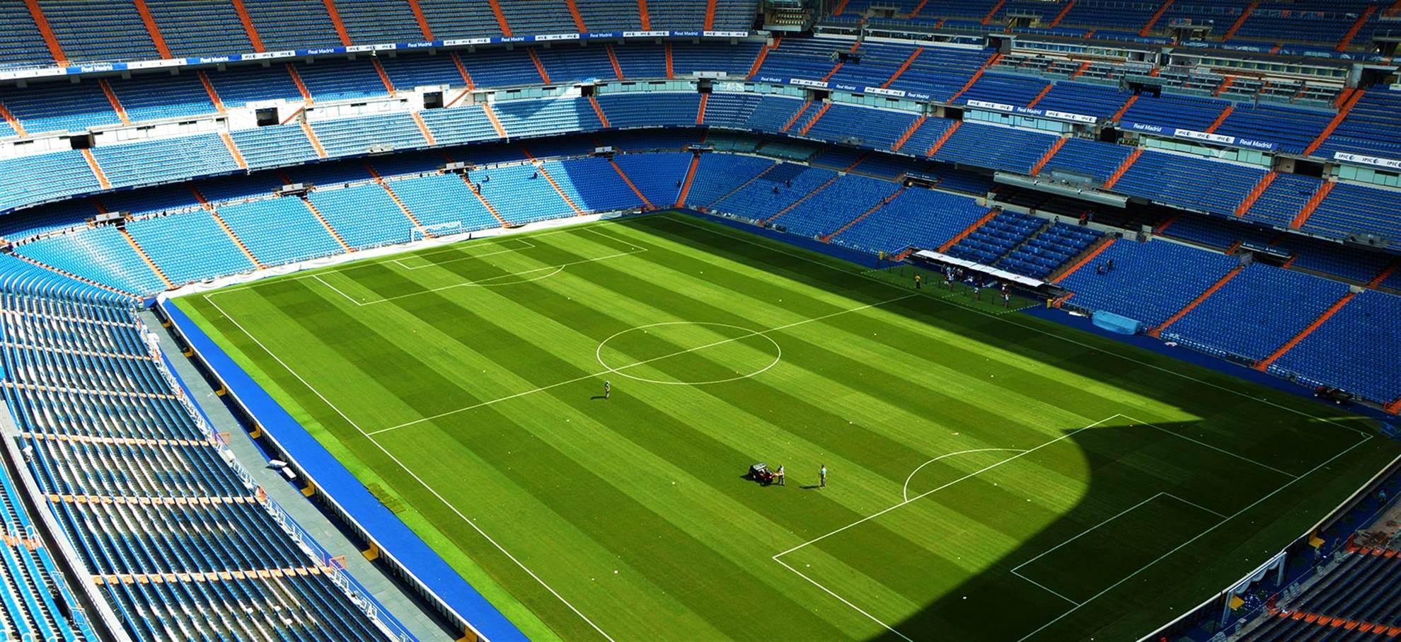 Real Madrid - Stadionkierros (Valinnainen Englanti Audioguide)