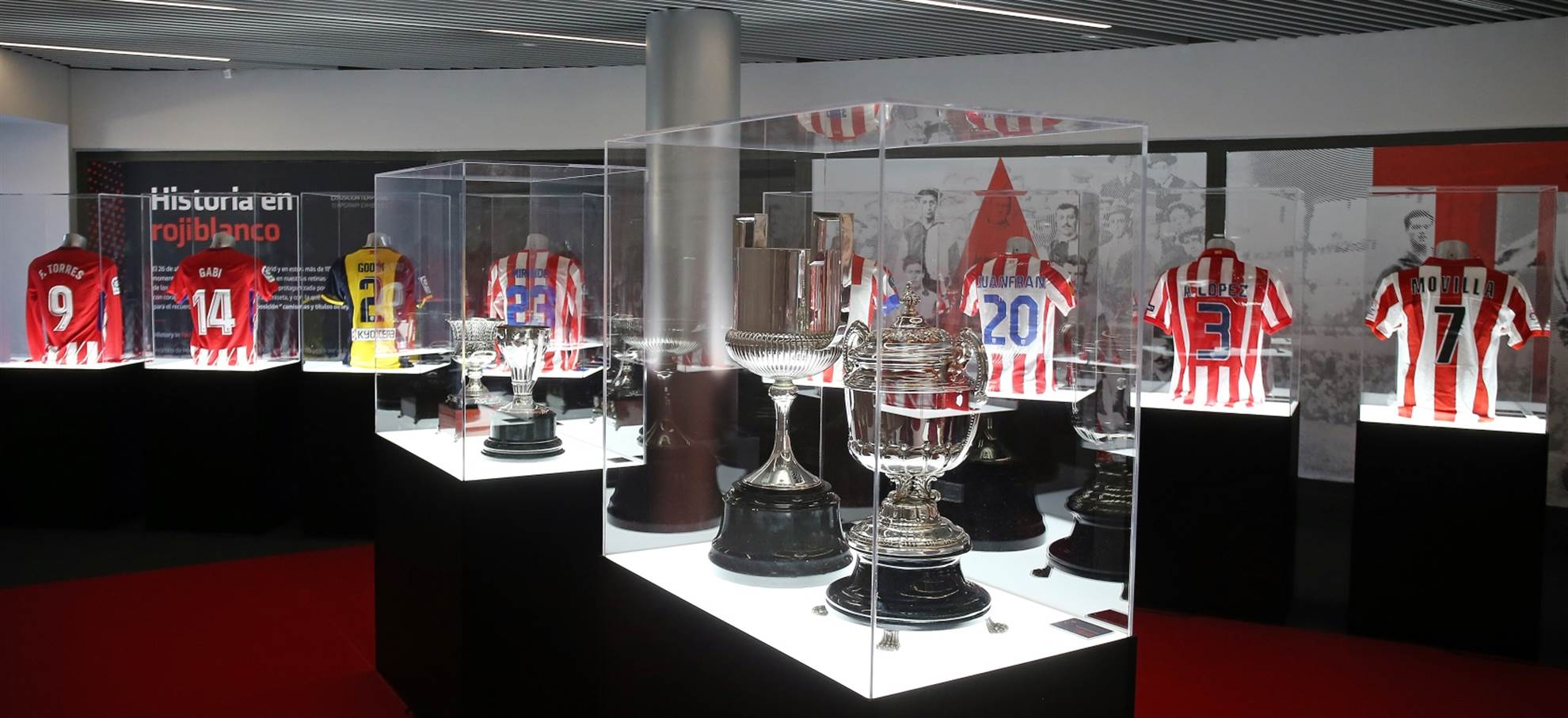Visite guidée de l'Atletico de Madrid