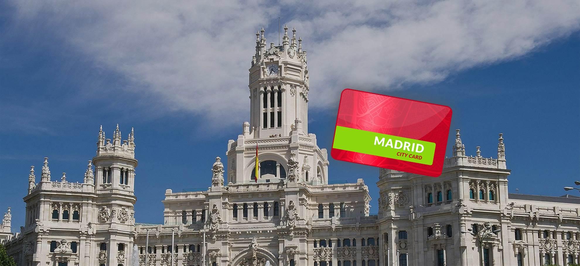 Madrid City Pass (Prado, Palacio Real, Tarjeta de Transporte Público opcional)